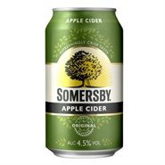 24 stk. Somersby  Apple  33 cl dåse
