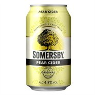 24 stk. Somersby Pear 33 cl dåse
