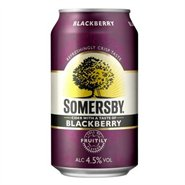 24 stk. Somersby Blackberry 33 cl ds.